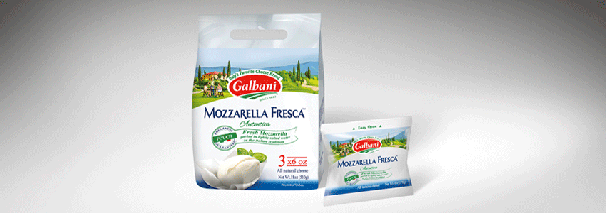 launch a fresh mozzarella with an authentic positioning