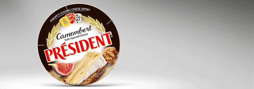 Secure Président positioning in the Soft-ripened cheese segment